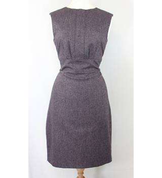 Austin Reed - Size: 12 - Purple - Knee length dress