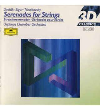DVORAK / ELGAR / TCHAIKOVSKY Serenades for Strings
