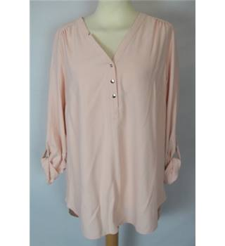 George Size 10 Pink Shirt Blouse