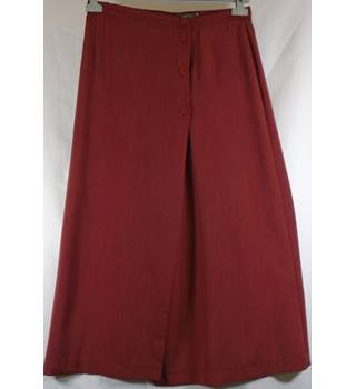 Women's Planet skirt - Size: 14 - Red