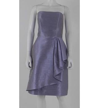 BNWT RRP £179 Alfred Sung Size 10 Pale Lilac Strapless Dress