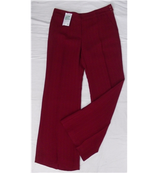 "Emporio Armani size: 32"" waist red trousers"