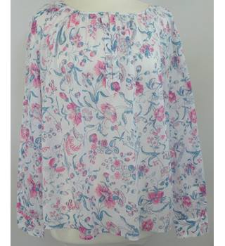 M&S Marks & Spencer - Size: 14 - Pink Mix - Ladies' Blouse