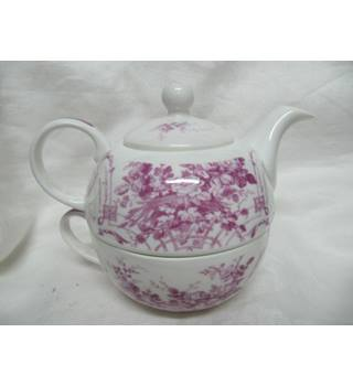 Laura Ashley One Cup Teapot Tuileries