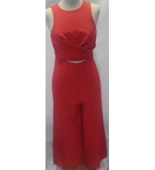 ASOS Size:8 Red Jumpsuit