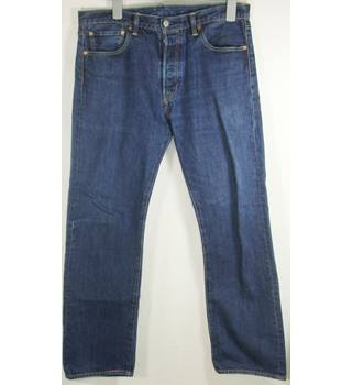 "Levi Strauss 501 - Size: 34"" - Blue - Jeans"