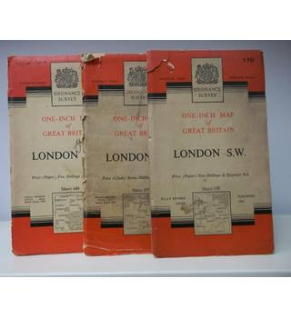 London, Seventh Series, Sheets 160, 170, 171 Standard Covers