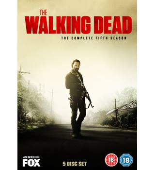 THE WALKING DEAD THE COMPLETE FIFTH SEASON DVD BOX SET Mint 18