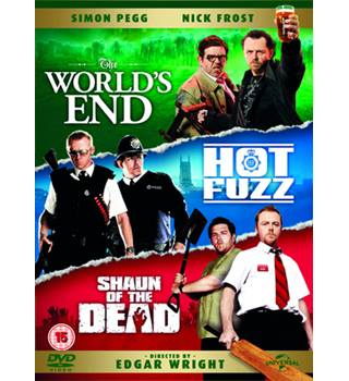 THE WORLD'S END/HOT FUZZ/SHAUN OF THE DEAD ' Three Flavours Cornetto Trilogy' Box Set 15