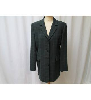 Country Casuals dark green jacket size 12