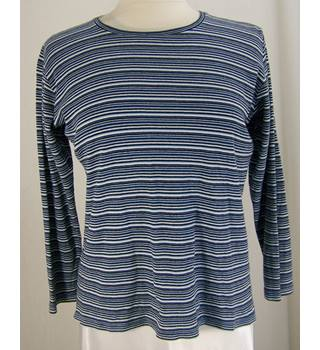 Isle - Size: M - Blue  Mix - Striped Top