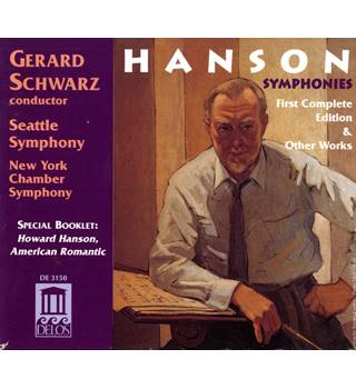 Howard Hanson Symphonies (Complete) 4 CD Set