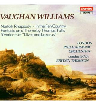 Norfolk Rhapsody; In the Fen Country and more (CD album) Ralph Vaughan Williams (composer)