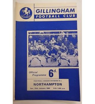 Gillingham v Northampton. 25th January 1969