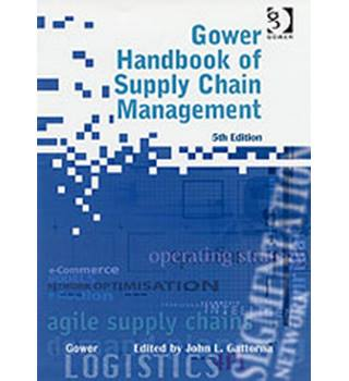 Gower handbook of supply chain management  5th ed