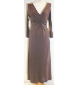 Boden - Size: 10L - Brown - Full length dress