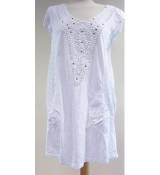 Next - Size: 8 - White - Cap sleeved Top