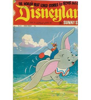 Disneyland Magazine  and Sunny Stories No 23  World's Best Loved Stories For Boys and Girls
