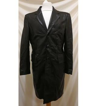 Joseph Long Leather Jacket Joseph - Size: L - Black