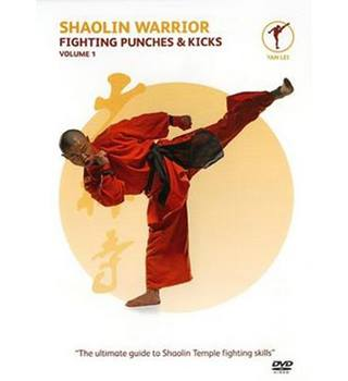 SHAOLIN WARRIOR FIGHTING PUNCHES AND KICKS