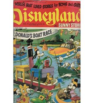 Disneyland Magazine and Sunny Stories No 22 World's Best Loved Stories For Boys and Girls