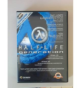 Half-Life Generation PC Game 4 CD Set
