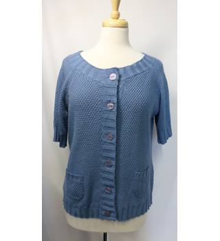M&S Marks & Spencer - Size: L - Blue - Jumper