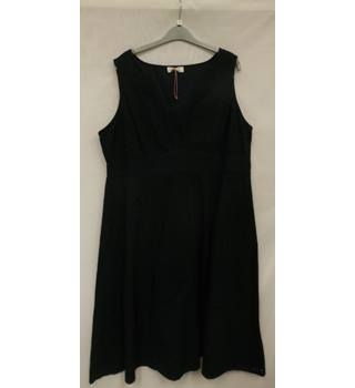 Women's Dress M&S Marks & Spencer's Per Una Per Una - Size: 20 - Blue - Sleeveless