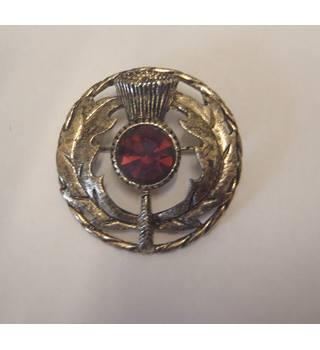 silver plate Scottish brooch Unbranded - Size: Medium - Metallics