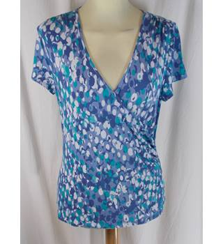 East - Size 8/10 - Blue Top