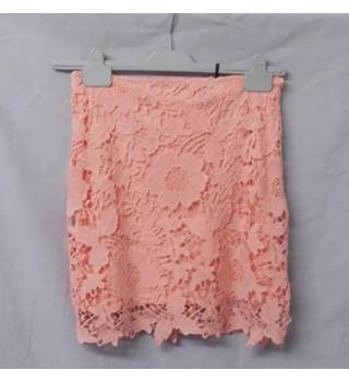 BooHoo Boutique - Size: 12 - Pink - Mini skirt
