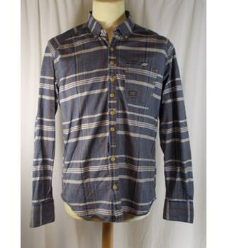 Duck and Cover - Size M - Blue Chequered Shirt