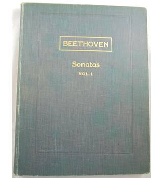 Beethoven - Sonatas  Vol. I. Piano.