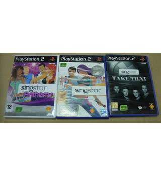 Singstar 3 Game Bundle (Sony PS2)