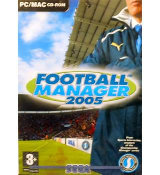 Football Manager 2005 - Age 3+