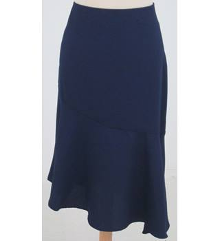 NWOT M&S Limited Edition Size: 12 - Blue asymmetric skirt