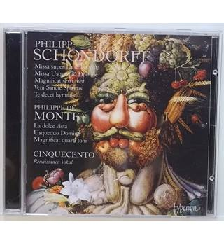 The Music of Philipp Schondorff Cinquecento
