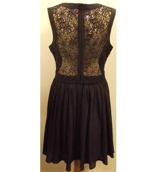 Oasis - Size: 16 - Black - Knee length dress