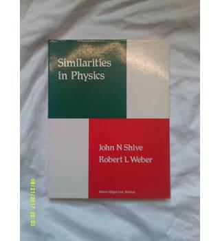 Similarities in physics