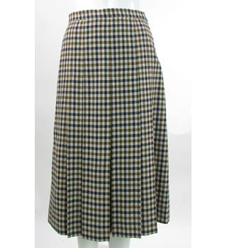 Aquascutum - Size: 10 S - Beige - Calf length skirt