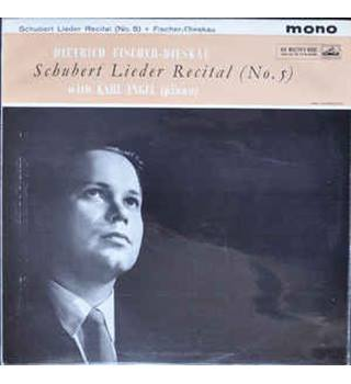 Schubert Lieder Recital (No5) with Karl Engel