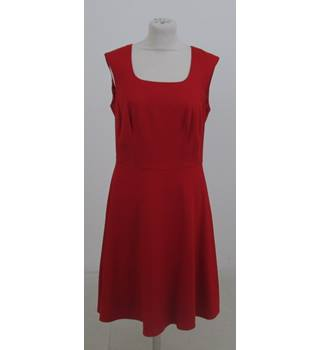 Pepperberry Size:12 red sleeveless dress