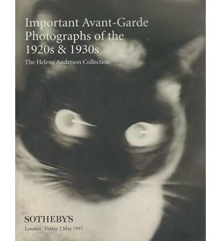 Important Avant-Garde Photographs of the 1920s and 1930s (The Helene Anderson Collection)