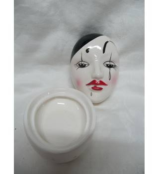 Clown Lidded Oval Container