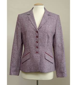 Burgundy Women's Jacket by Kaliko size 12 Kaliko - Purple - Smart jacket / coat