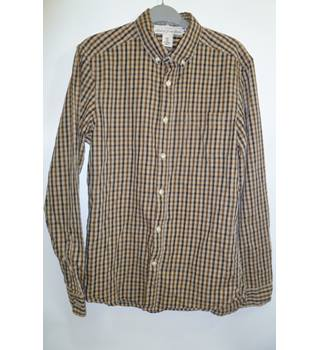Brand new H&M size S Regular Brown Checked Shirt H&M - Size: S - Brown - Long sleeved