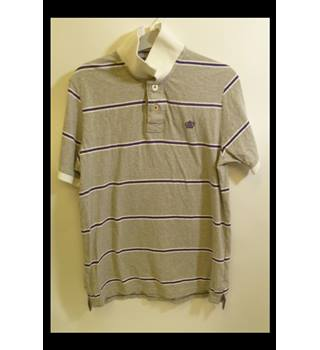 Brand new Next size S Men's Short Sleeved Shirt Next - Size: S - Grey - Polo shirt