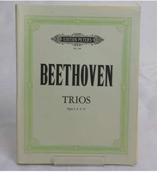 Trios Opus 3, 8, 9, 25 (Beethoven) Sheet Music