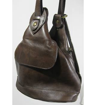 Hidesign Leather Bag - Brown - Size S/M Hidesign - Brown