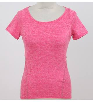 NWOT: M&S Collection: Size 8:  Hot pink fitness t-shirt